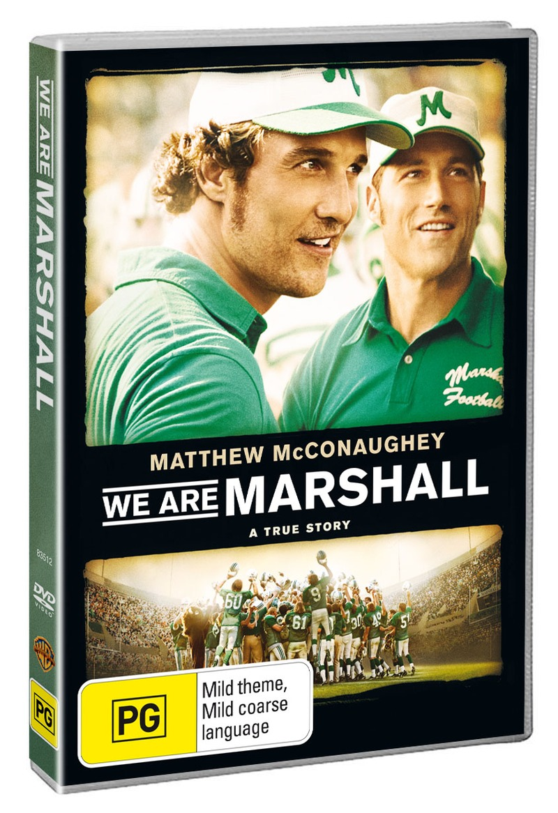 We Are Marshall on DVD image