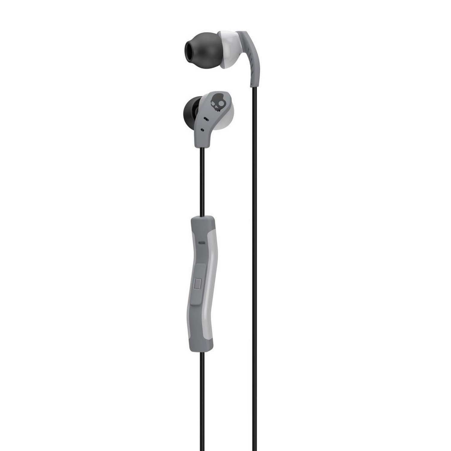 Skullcandy Method In Ear Sport Earbuds With Mic Gray At Mighty Inkd 20 W 1 Black Image