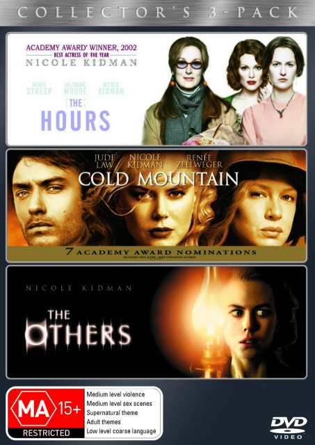 Hours, The / Cold Mountain / The Others - Collector's 3-Pack (3 Disc Set) on DVD image