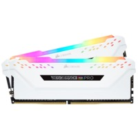 2x8GB Corsair Vengeance DDR4 2666Mhz RGB Pro White Heat Spreader RAM