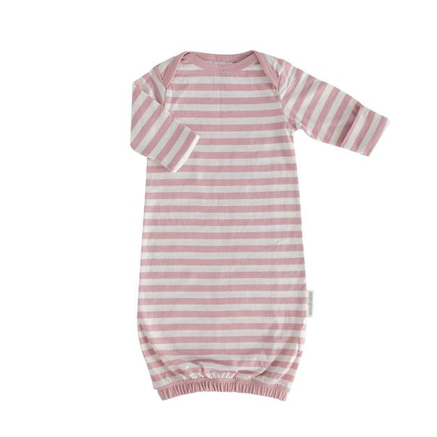 Woolbabe: Merino/Organic Cotton Gown Dusk - 3-6 Months
