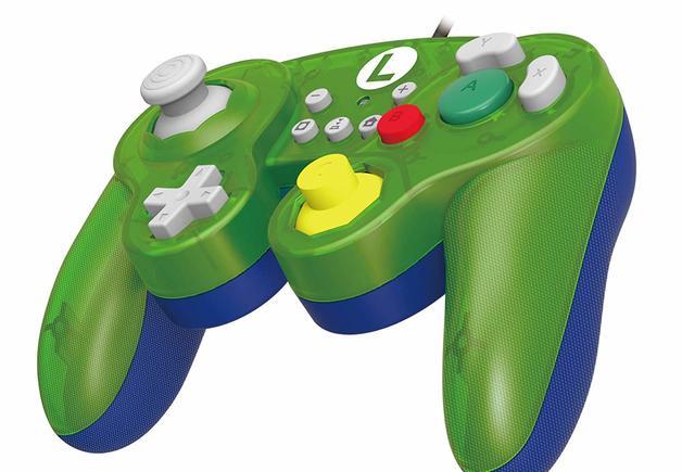 Nintendo GameCube Controller Super Smash Bros Edition (Luigi) for Switch