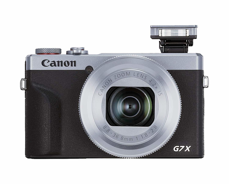 Canon: PowerShot G7 X Mark III 20.1MP CMOS 4.2x Zoom Digital Camera - Silver image