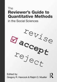 The Reviewer's Guide to Quantitative Methods in the Social Sciences image