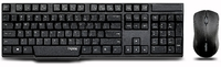 Rapoo 1830 Wireless Optical Keyboard Mouse Combo with Nano Receiver