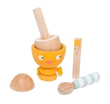 Le Toy Van: Chicky Chick Wooden Egg Cup Set