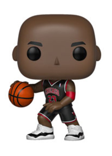 NBA: Bulls - Michael Jordan (Black Uniform) Pop! Vinyl Figure