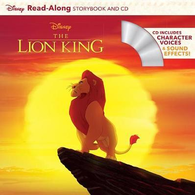 The Lion King Read-Along Storybook and CD by Disney Book Group
