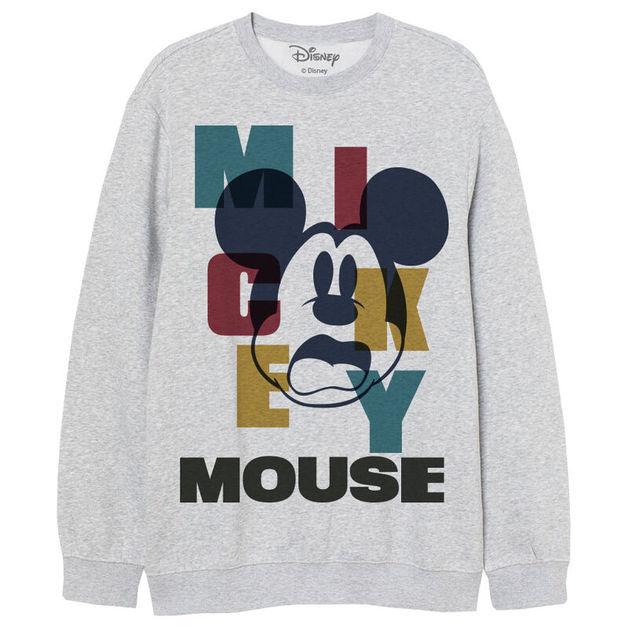Disney: Abstract Mickey - Adult Sweatshirt (Size: M)