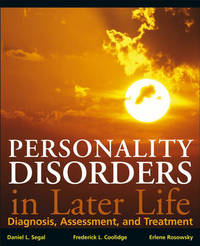 Personality Disorders and Older Adults by Daniel L Segal image
