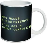 Who Needs A Girlfriend? Mug image