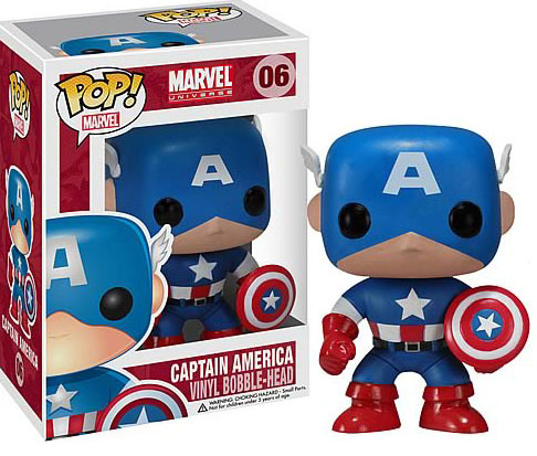 Marvel - Captain America Pop! Vinyl Figure image
