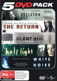 5 DVD Pack (Skeleton Key / The Return / Silent Hill / Half Light / White Noise) (5 Disc Set) on DVD image