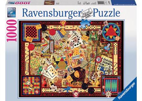 Ravensburger Vintage Games Puzzle (1000pc)