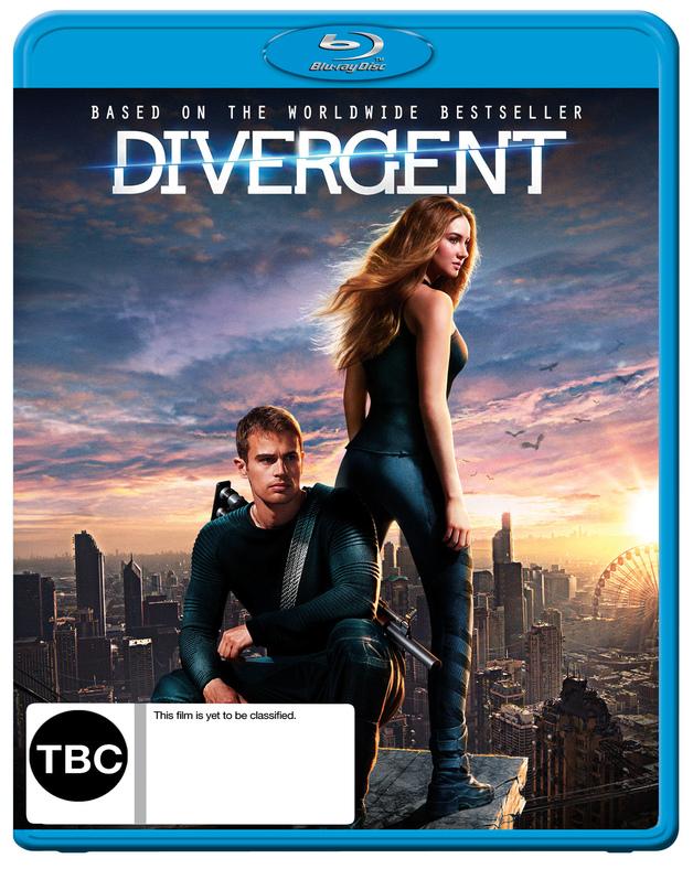 Divergent on Blu-ray