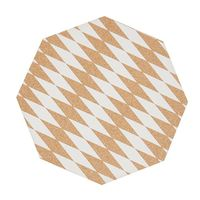 General Eclectic Cork Placemats - Diamond