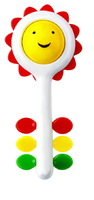 Ambi Sunflower Rattle