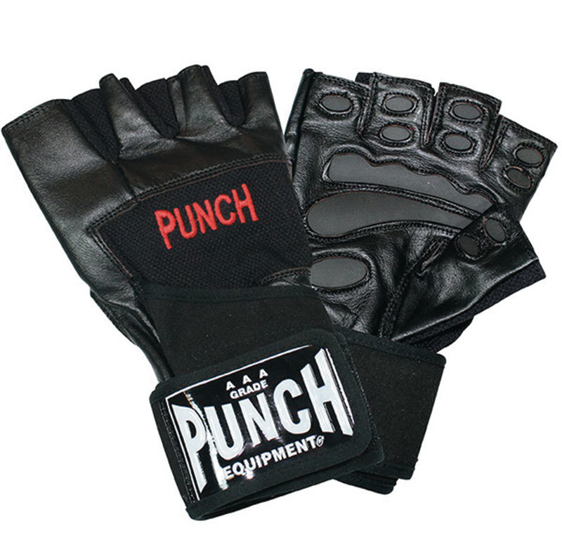 Punch: Weight Mitt with Wrap - Medium (Black) image