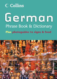 Collins German Phrase Book and Dictionary by HarperCollins Publishers image