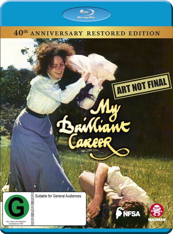 My Brilliant Career (40th Anniversary) on Blu-ray