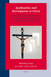 Justification and Participation in Christ by Olli-Pekka Vainio image