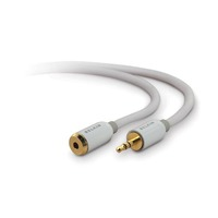 Belkin Mini Stereo Extension Cord 3.5mm Stereo M/F 3m image