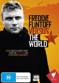 Freddie Flintoff Versus the World - Series 1 on DVD