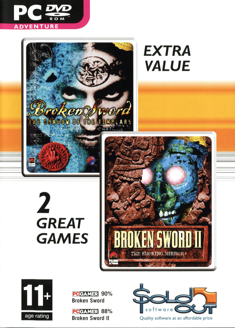 Broken Sword I & II Double Pack for PC Games image