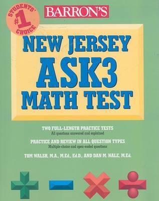 Barron's New Jersey Ask3 Math Test by Dan Nale