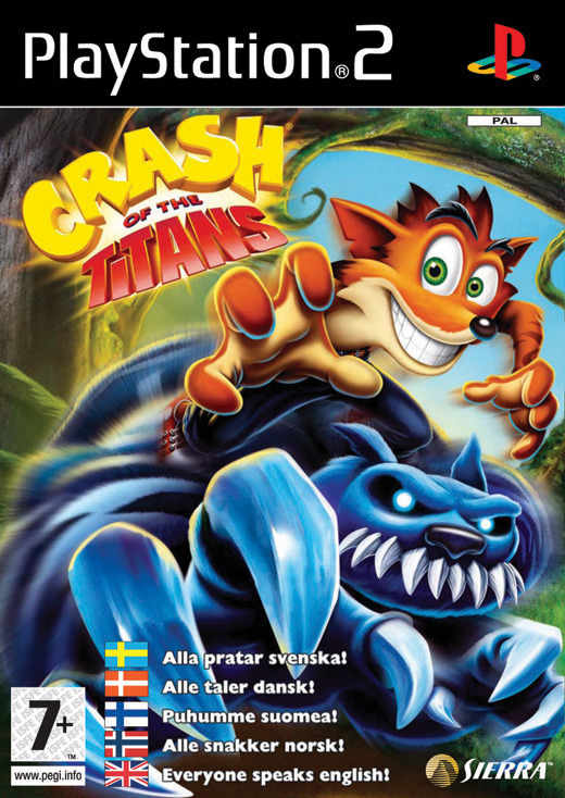 Crash of the Titans for PlayStation 2