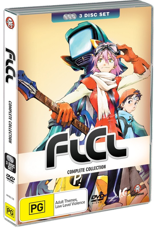 FLCL Collection (3 Disc Set) on DVD