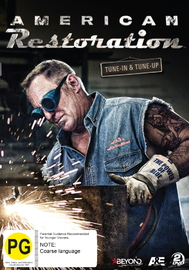 American Restoration: Tune-In & Tune-Up on DVD