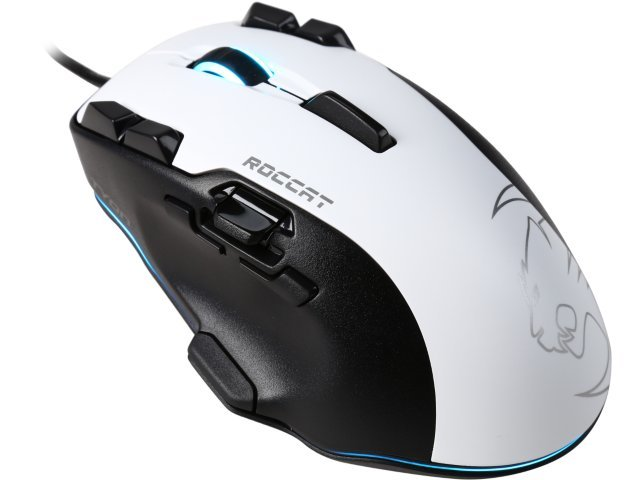 ROCCAT Tyon All Action Multi-Button Gaming Mouse - White for PC Games image