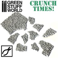 Green Stuff World - Stacked Skull Plates - Crunch Times!