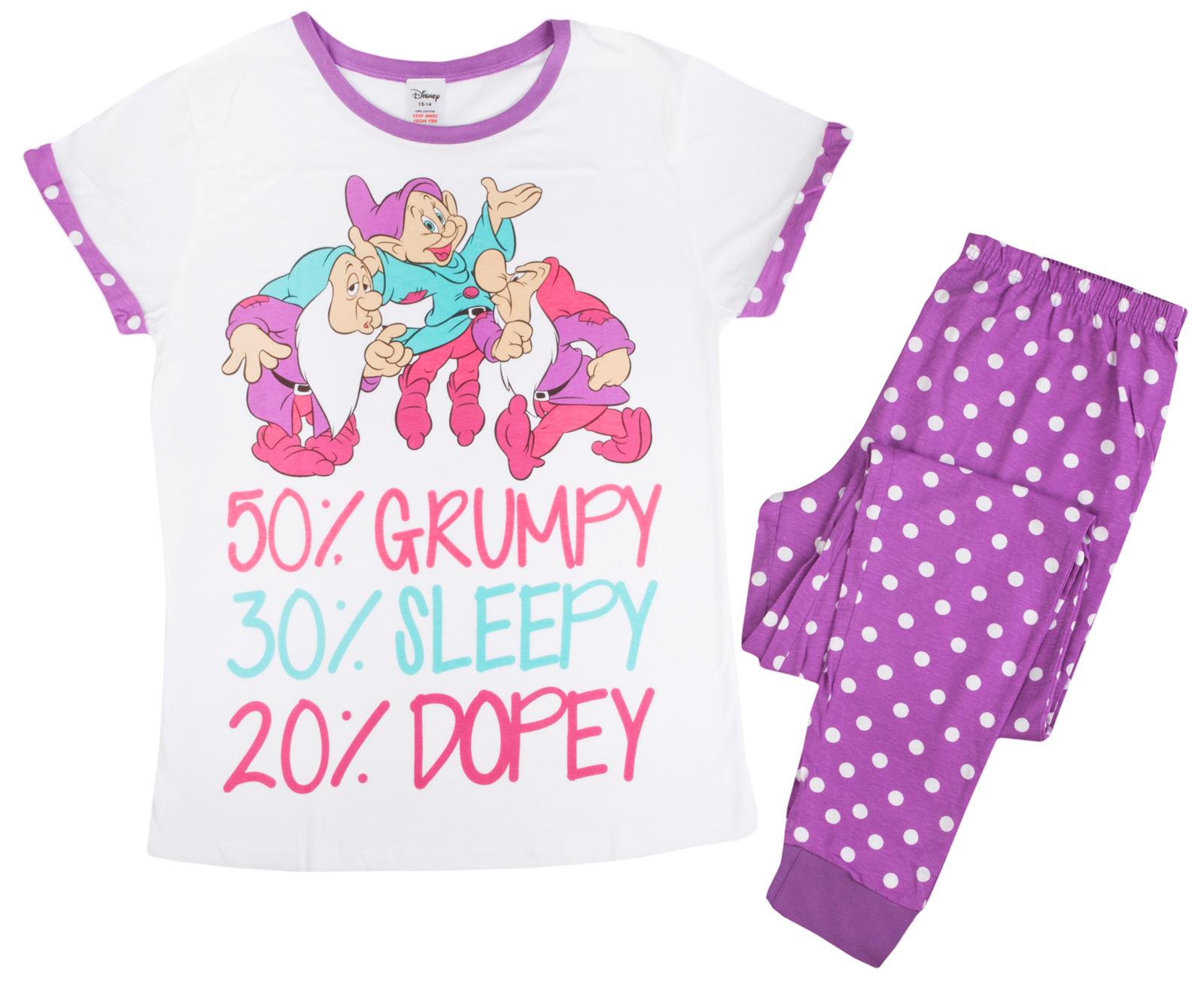 Disney: Seven Dwarfs (Polka-Dot) - Women's Pyjamas (16-18) image