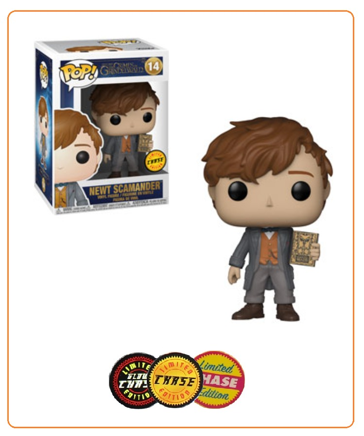 Fantastic Beasts 2 - Newt Scamander Pop! Vinyl Figure (with a chance for a Chase version!) image