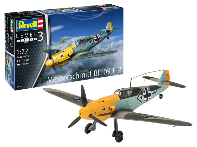 Revell: Messerschmitt BF-109 F2 - 1:72 Scale Model Kit