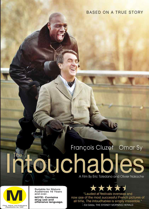 The Intouchables on DVD