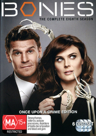 Bones - The Complete Eighth Season on DVD