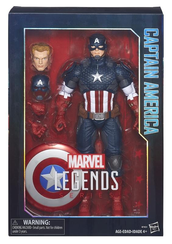 """Marvel Legends: 12"""" Captain America - Action Figure"""