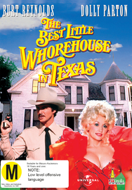 The Best Little Whorehouse in Texas on DVD
