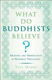 What Do Buddhists Believe? by Tony Morris image