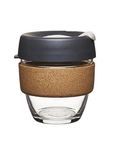 KeepCup Brew Cork - Soft Charcoal Black (8oz – 227ml)