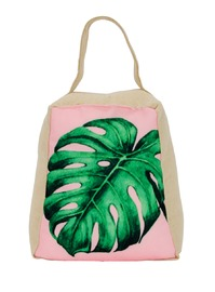 Tropical Leaf Door Stop (Pink Leaf)