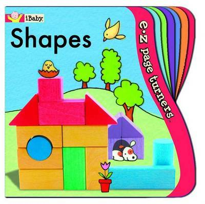 E-Z Page Turners: Shapes (Perfect for Little Fingers!) by Innovative Kids image