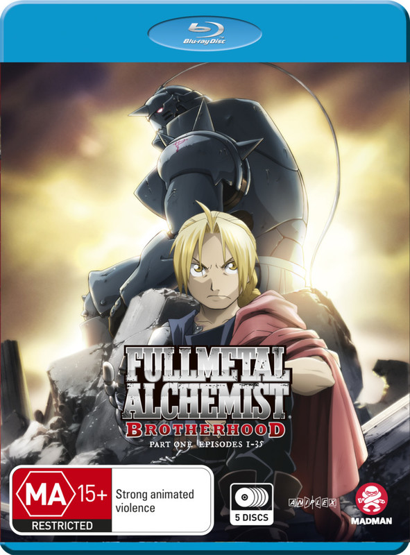 Fullmetal Alchemist: Brotherhood - Part 1 (Eps 1-33) on Blu-ray