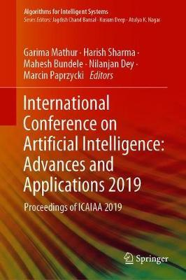 International Conference on Artificial Intelligence: Advances and Applications 2019