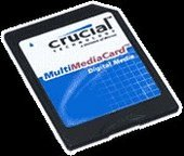Crucial 128MB Multimedia Card