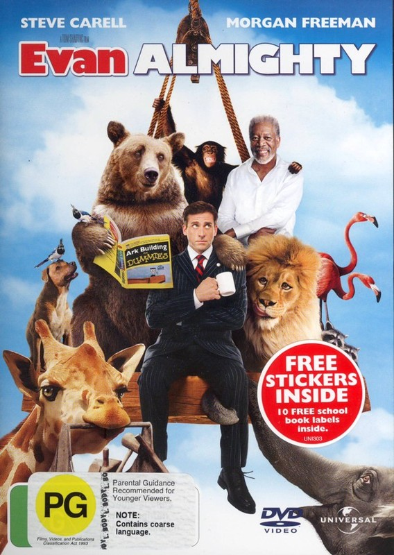Evan Almighty on DVD