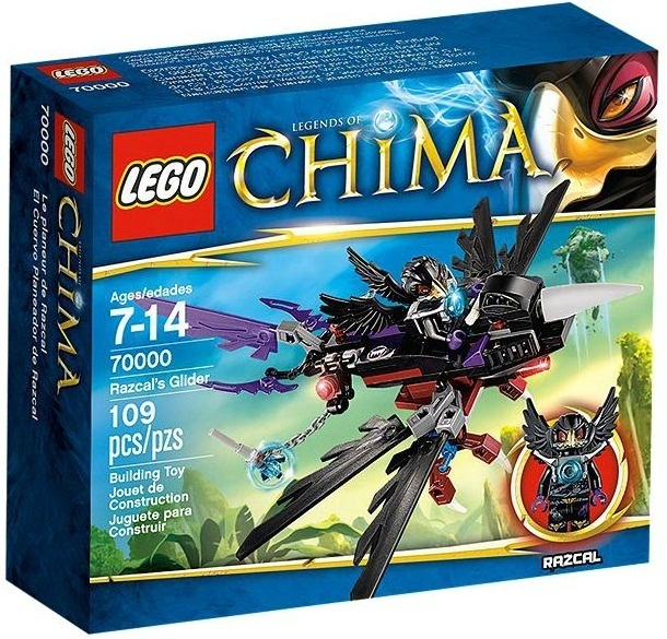 LEGO Legends of Chima - Razcal's Glider (70000)